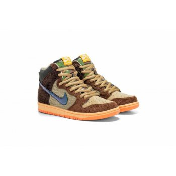 Chaussures Baskets montantes Nike SB Dunk High x Concepts