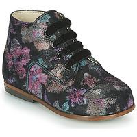 Chaussures Fille Baskets montantes Little Mary MILOTO Noir