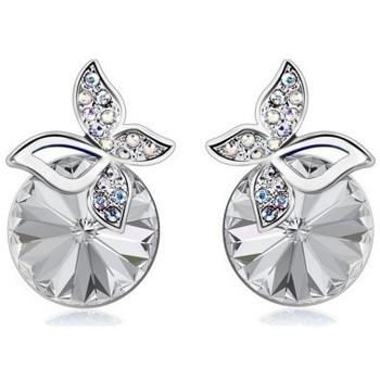 Montres & Bijoux Femme Boucles d'oreilles Sc Crystal B1280-BO-CRYS Argenté
