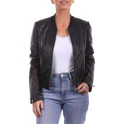 Vêtements Femme Vestes en cuir / synthétiques Arturo Timesquare Noir Noir