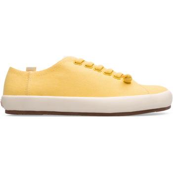 Chaussures Femme Baskets mode Camper Baskets PEU RAMBLA VULCANIZADO jaune