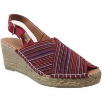 Chaussures Femme Espadrilles Toni Pons Teia Multi Rouge