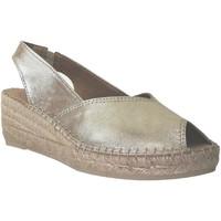 Chaussures Femme Espadrilles Toni Pons Bernia-p Or/Platine
