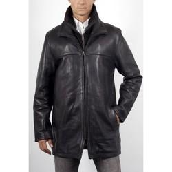 Vêtements Homme Vestes en cuir / synthétiques Arturo ARM601 Vachette Noir Noir