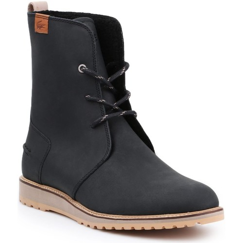 Chaussures Femme Bottines Lacoste 34CAW0002 czarny
