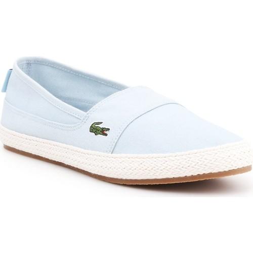 Chaussures Femme Baskets basses Lacoste Marice 218 1 CAW 7-35CAW004252C niebieski