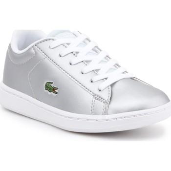 Chaussures Enfant Baskets basses Lacoste kids 7-34SPC0006334 srebrny