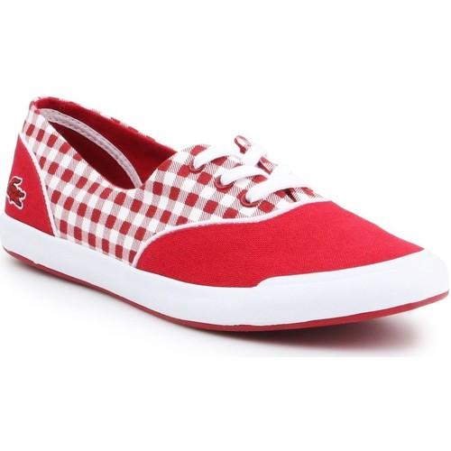 Chaussures Femme Baskets basses Lacoste Lancelle Lace 3 7-31SPW0044047 czerwony