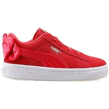 Chaussures Femme Baskets mode Puma SUEDE BOW AC INF - 367320-02 ROSE