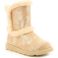 Chaussures Fille Bottes de neige Mod'8 Aldoux ROSE CLAIR