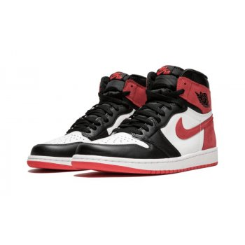 Chaussures Baskets montantes Nike Air Jordan 1 High Track Red Track Red/Black/White
