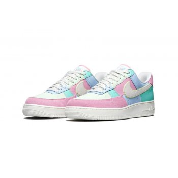 Chaussures Baskets basses Nike Air Force 1 Low Easter Egg Ice Blue/Sail-Hyper Turq-Barely Volt