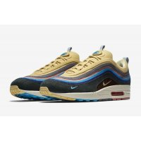 Chaussures Baskets basses Nike Air Max 1/97 Sean Wotherspoon Light Blue Fury/Lemon Wash