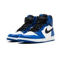 Chaussures Baskets basses Nike Air Jordan 1 High Game Royal Game Royal/Summit White-Black