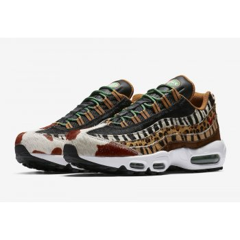 Chaussures Baskets basses Nike Air Max 95 Animal Pony/Black/Classic Green-Sport Red