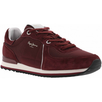 Chaussures Homme Baskets mode Pepe jeans CH TINKER CITY Rouge