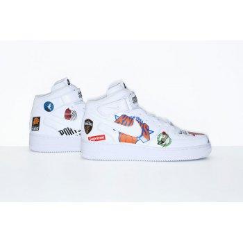 Chaussures Baskets basses Nike Air Force 1 High x Supreme