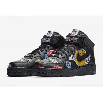 Chaussures Baskets montantes Nike Air Force 1 High x Supreme