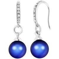 Montres & Bijoux Femme Boucles d'oreilles Sc Crystal B2075-BLEU Bleu