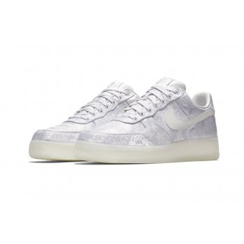 Chaussures Baskets basses Nike Air Force 1 Low x CLOT Premium White/White-White