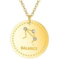 Montres & Bijoux Femme Colliers / Sautoirs Sc Crystal B2449-BALANCE Doré