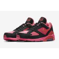 Chaussures Baskets basses Nike Air Max 180 x CDG Black Laser Pink/Solar Red-Black