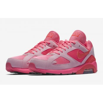 Chaussures Baskets basses Nike Air Max 180 x CDG Pink Laser Pink/Solar Red-Pink Rise
