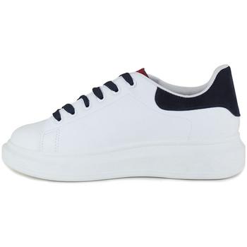 Chaussures Femme Baskets basses Loca Lova NOVA WHITE RED Blanc