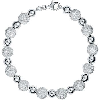 Montres & Bijoux Femme Bracelets Cleor Bracelet  en Argent 925/1000 et Perle Blanche Blanc