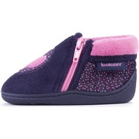 Chaussures Fille Chaussons Isotoner Chaussons bottillons Marine