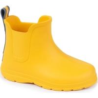 Chaussures Enfant Bottes de pluie Isotoner Bottes de pluie Jaune