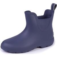 Chaussures Femme Bottes de pluie Isotoner Bottes de pluie confort Marine