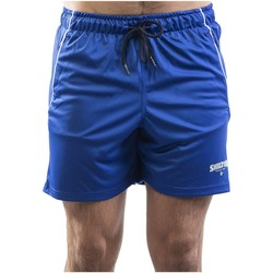 Vêtements Homme Shorts / Bermudas Shilton Short de sport zippé Bleu indigo