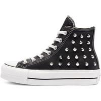 Chaussures Femme Baskets mode Converse CHUCK TAYLOR ALL STAR LIFT - HI NOIR