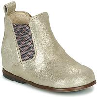 Chaussures Fille Boots Little Mary ARON Argenté
