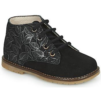 Chaussures Fille Baskets montantes Little Mary JUDITE Noir