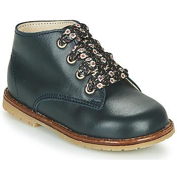 Chaussures Fille Baskets montantes Little Mary JUDITE Bleu