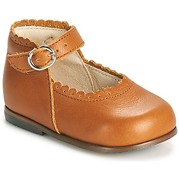 Chaussures Fille Ballerines / babies Little Mary VOCALISE Marron