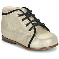 Chaussures Fille Baskets montantes Little Mary MEGGIE Argenté