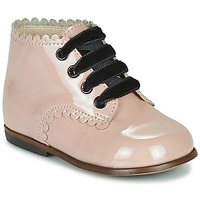 Chaussures Fille Baskets montantes Little Mary VIVALDI Rose