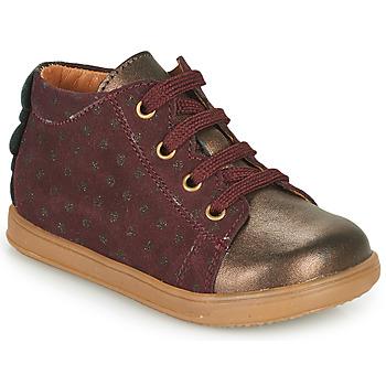 Chaussures Fille Baskets basses Little Mary CLELIE Bordeaux