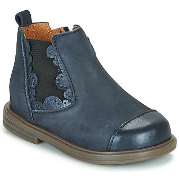 Chaussures Fille Boots Little Mary ELVIRE Bleu