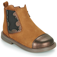 Chaussures Fille Boots Little Mary ELVIRE Marron