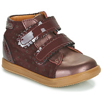 Chaussures Fille Baskets montantes Little Mary CRISTIE Bordeaux