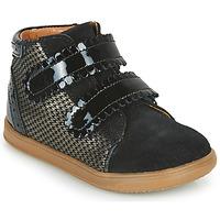 Chaussures Fille Baskets montantes Little Mary CRISTIE Noir