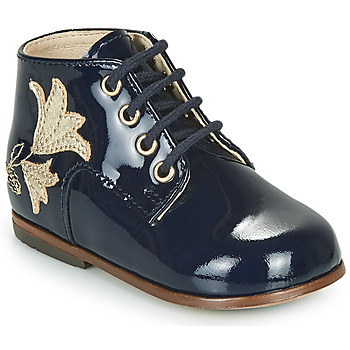 Chaussures Fille Baskets montantes Little Mary MEIGE Bleu