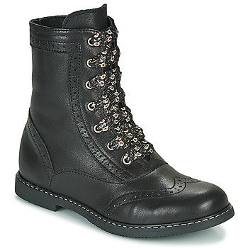 Chaussures Fille Boots Little Mary LYSIANE Noir