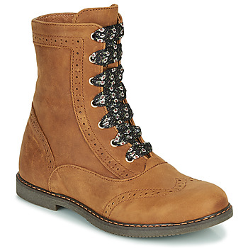 Chaussures Fille Boots Little Mary LYSIANE Marron