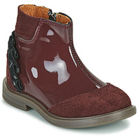 Chaussures Fille Boots Little Mary ELSIE Rouge
