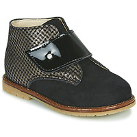 Chaussures Fille Baskets montantes Little Mary JANYCE Noir